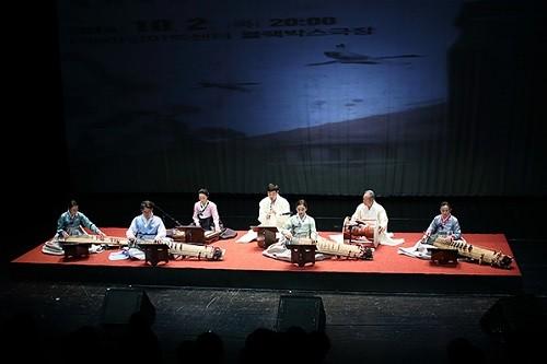 Korean traditional music ensemble