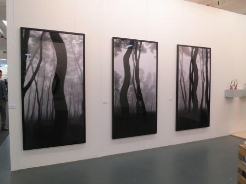 Three works by Bae Bien-u, at Galerie RX