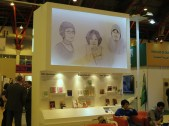 LBF - At the LTI Korea stand at the London Book Fair