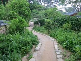 A path in the Outer Garden