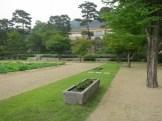 The Hee Won's Main Garden, with the museum behind
