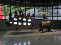 """From the exhibition """"From Horse to Christo"""" at the Paik Nam June Art Center, Yongin, June 2014"""