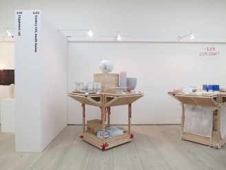 Gallery LVS's stall at Collect 2015