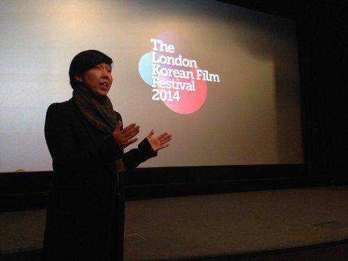 Ms Jeon Hye-jung at the LKFF 2014
