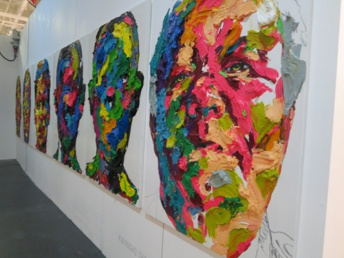 Portraits by Shin Kwang-ho, at Unix Gallery