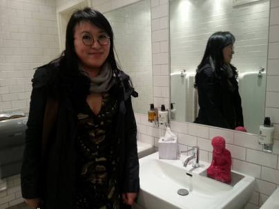 LBF - Shin Meekyoung launches another phase of her Toilet Project at BAFTA, 9 April