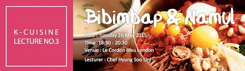 Featured image for post: May cookery demonstration: bibimbap and namul