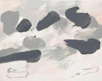 Lee Kang-so: From an Island (2008) - Acrylic on canvas, 72.7 x 91cm. At Skipwiths