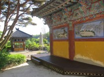 Wangrimsa (왕림사), a tiny temple near King Guhyeong's tomb