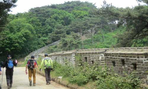 Namhansanseong walls