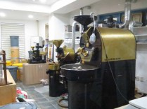 Santorini's coffee roasters