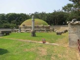 The tomb of King Seongjong in Gangnam