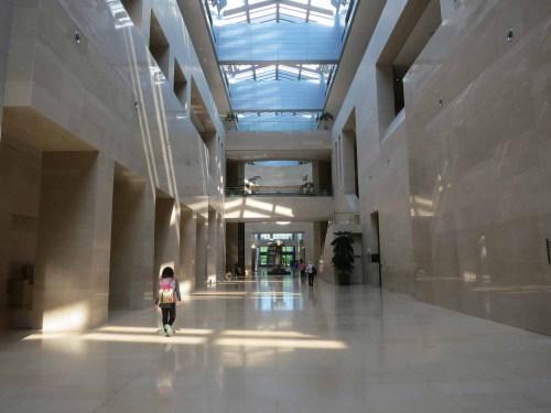 Inside the National Museum of Korea