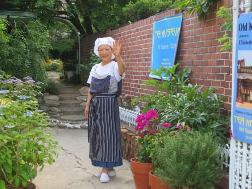 Jade Kilburn, proprietor of the Tea Museum