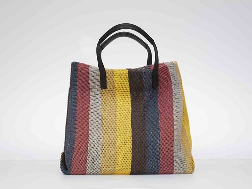 STORI: Five elements colour stripe tote