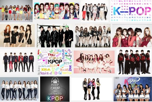 A google image search for K-pop