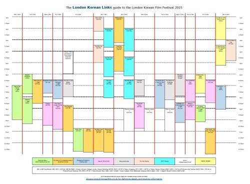 The LKFF calendar 2015