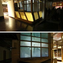 Circulation, projection mapping installation, dimension variable,