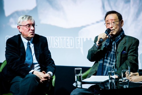 Mark Morris with Chung Chang-wha (photo: KCCUK)