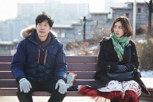 Yoo Joon-sang and Shin Dong-mi in A Matter of Interpretation