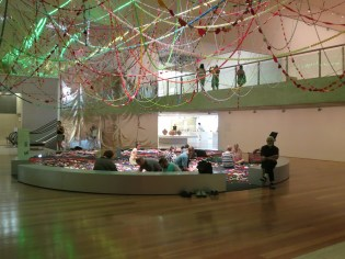 Choi Jeong-hwa's Cosmos and The Mandala of Flowers (2015) at APT8