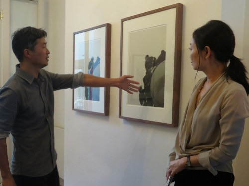 Noh Suntag discusses his series of photographs at Daechuri (from State of Emergency)