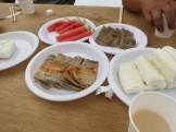 Snacks to go with the makgeolli