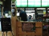 A quick break in a coffee shop