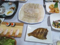 Sashimi dinner in Sancheong
