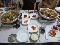 Sashimi dinner in Sancheong: the leftovers become maeuntang