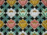 One of the lattice windows on Bongwonsa's Hall of 3,000 Buddhas