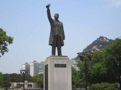 The statue of Seo Jae-pil