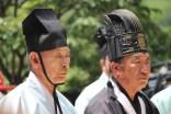 Daegwallyeong Guksaseonghwangje: the ceremony in progress