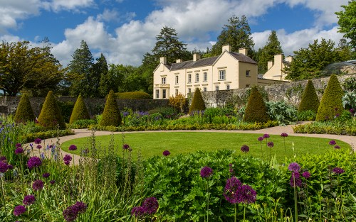 The upper walled garden at Aberglasney House