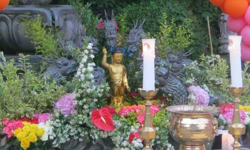 Baby Buddha at Bongwonsa