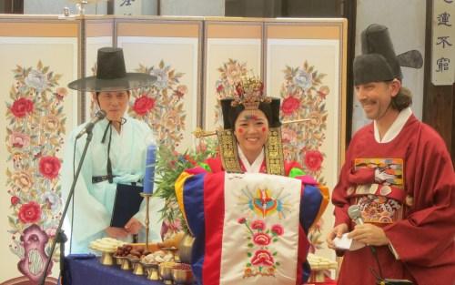 Wedding at Unhyeongung