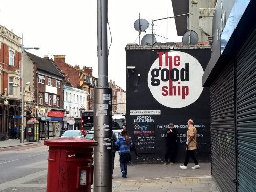 The Good Ship in Kilburn High Road - venue for the gig