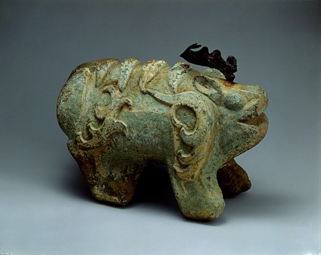 Stone Guardian from the Tomb of King Muryeong - National Treasure #162 (photo: Cultural Heritage Administration)