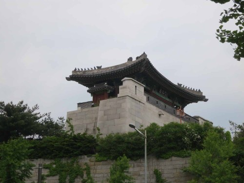 The reconstructed and repositioned Hyehwamun today