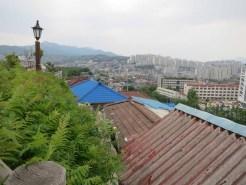 The roofs of Jangsu Village