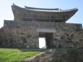 The Geumseoru Gate Pavilion from inside the fortress