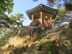 Baekhwajeong pavilion on Nakhwaam