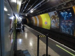 The platforms at Charing Cross