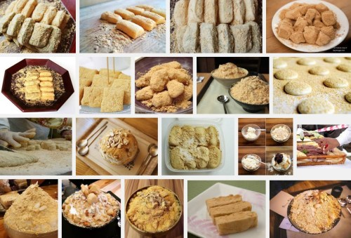 Google image search for Injeolmi rice cakes