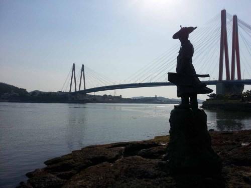 Yi Sun-shin and Jindo Bridge