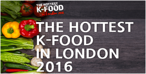 Hottest K-food in London
