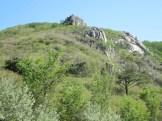 Rocky outcrops on Hwangmaesan