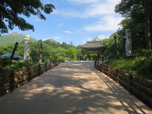 The first entrance to Daeheungsa Temple
