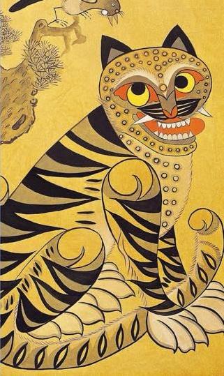 Minhwa tiger