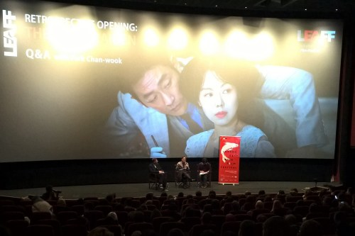 Q+A at the Picturehouse Central after Handmaiden